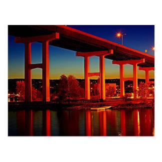 Postal Debajo del puente