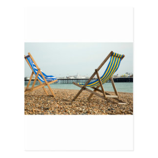 Postal Deckchairs y tabla