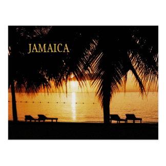 Postal del adiós de Jamaica