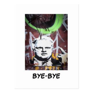 Postal del adiós de Rob Ford (alcalde de Toronto)