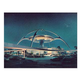 Postal del aeropuerto de LAX Los Ángeles del