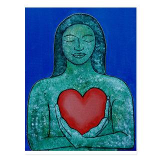 Postal del amor del uno mismo