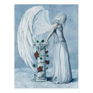 Postal del ángel de la esperanza