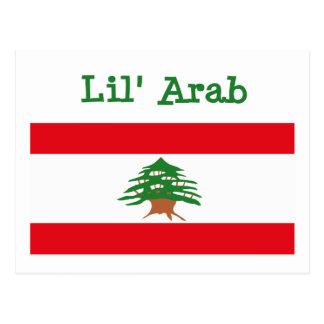 Postal del árabe de Lil