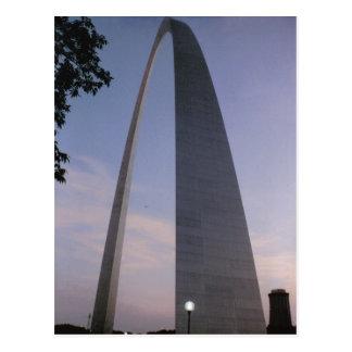 Postal del arco de la entrada de St. Louis