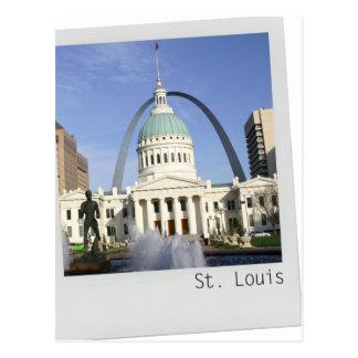 Postal del arco de St. Louis