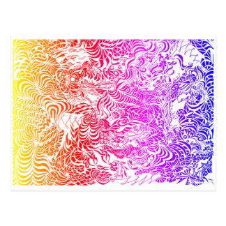 Postal del arco iris