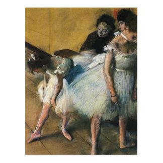 Postal del arte de Edgar Degas