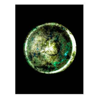 Postal del arte de JTG de Alumino Luna