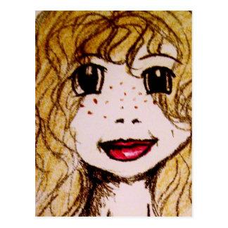 postal del arte del blondi