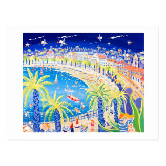 Postal del arte: Los franceses se besan, Niza