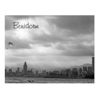 postal del atontamiento Benidorm
