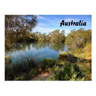 Postal del australiano interior
