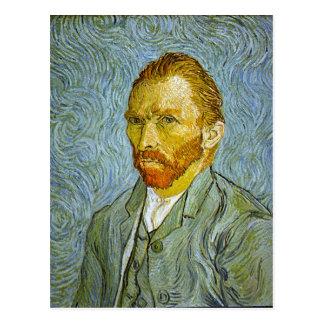 """Postal del """"autorretrato"""" de Vincent van Gogh"""