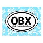 Postal del azul de OBX Outer Banks NC