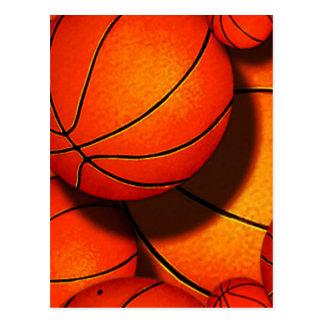 Postal del baloncesto