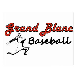 Postal del béisbol de Grand Blanc