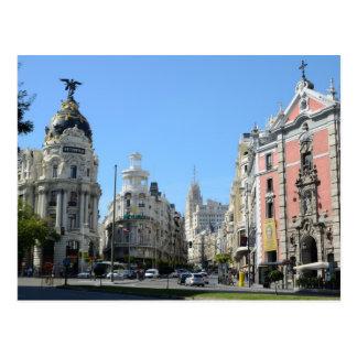 Postal del calendario de Madrid 2013