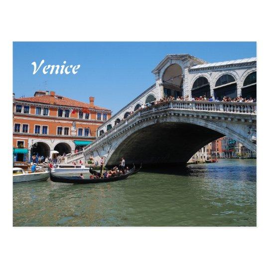 Postal del calendario de Venecia 2016