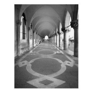 Postal del callejón del palacio del dux