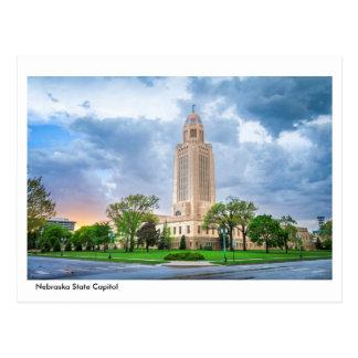 Postal del capitolio del estado de Nebraska