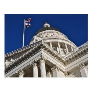 Postal del capitolio del estado de Sacramento