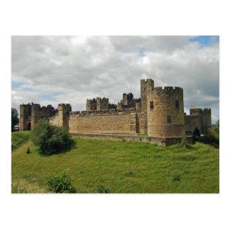 Postal del castillo de Alnwick