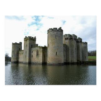 Postal del castillo de Bodiam