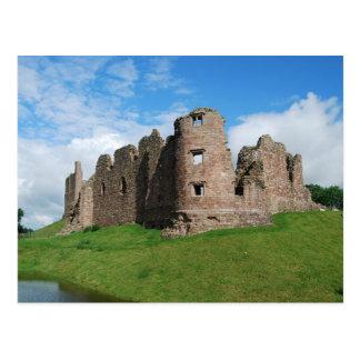 Postal del castillo de Brough