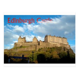 Postal del castillo de Edimburgo