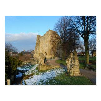 Postal del castillo de Knaresborough