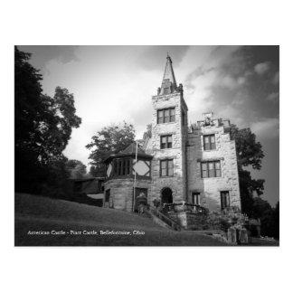 Postal del castillo de Piatt