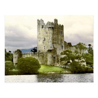 Postal del castillo de Ross