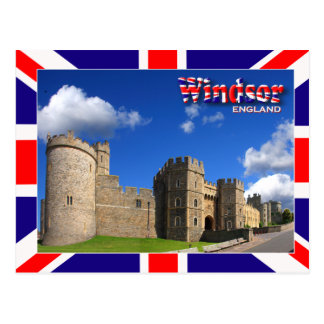 Postal del castillo de Windsor