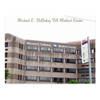 Postal del centro Médico de Michael E. DeBakey VA