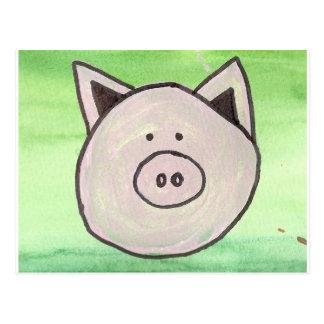 Postal del cerdo