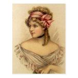 Postal del chica de Gibson del Victorian