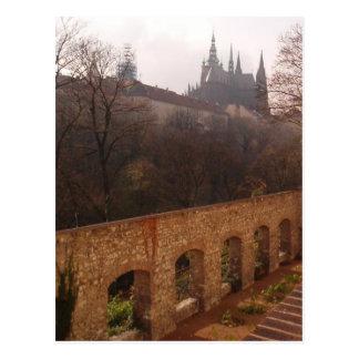 Postal del claustro de Praga