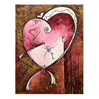 Postal del corazón de la esperanza