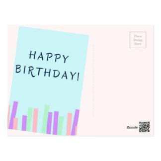 Postal del cumpleaños