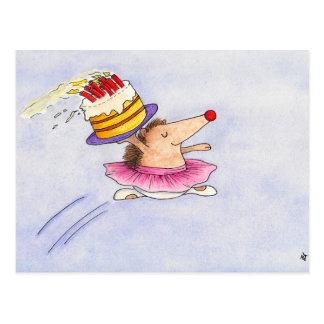 Postal del cumpleaños del ballet de Nicole Janes