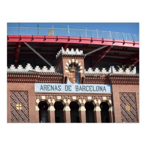 Postal del de Barcelona España de las arenas