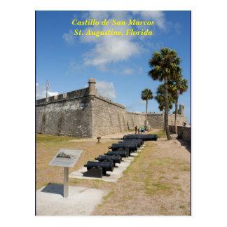postal del de San Marcos del castillo