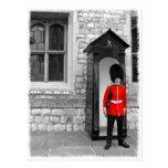 Postal del desfile del soldado de Londres