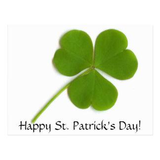 Postal del día de St Patrick feliz