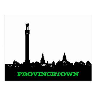 Postal del dibujo animado de Provincetown