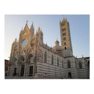 Postal del Duomo de Siena