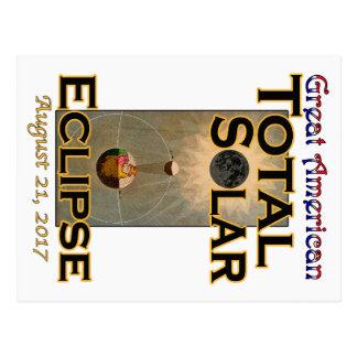 Postal del eclipse