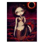 """""""Postal del eclipse de la sirena"""""""