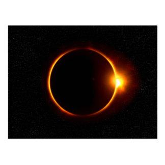 Postal del eclipse solar